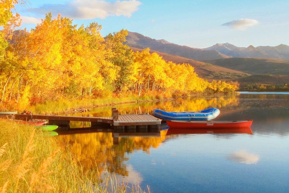 Otto Lake autumn