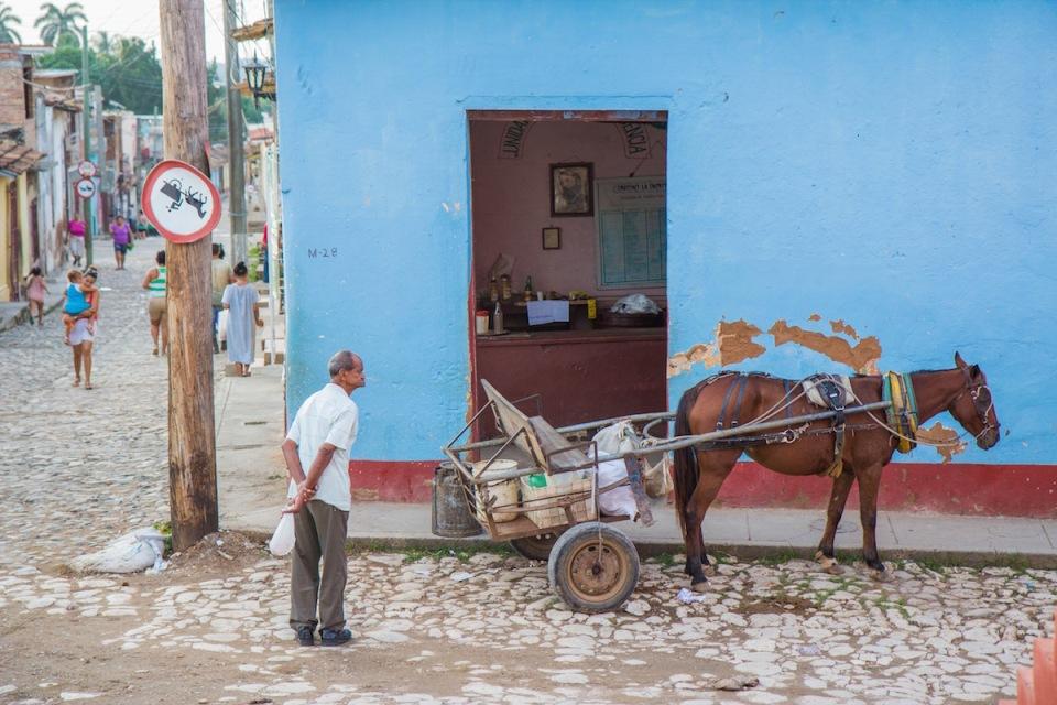 Cuba street photo
