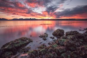 Glacier Bay Sunset